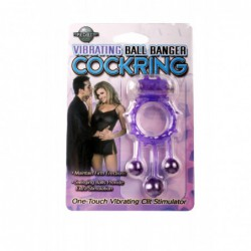 Vibrating Ball Banger Cock Ring